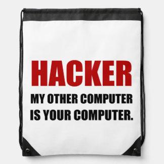 Sac Avec Cordons Pirate informatique l'autre votre ordinateur