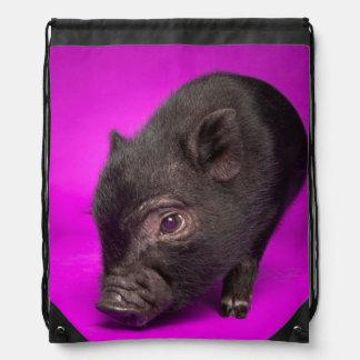 Sac Avec Cordons Porc noir de bébé
