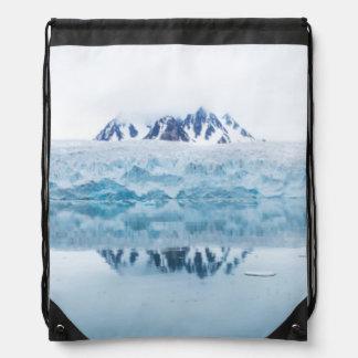 Sac Avec Cordons Réflexions de glacier, Norvège