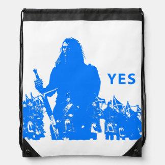 Sac Avec Cordons Support Scotland Drawstring Backpack