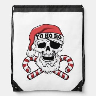 Sac Avec Cordons Yo ho ho - pirate père Noël - le père noël drôle
