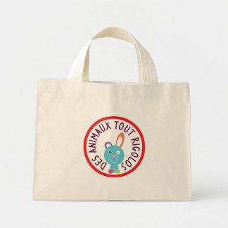 "Sac avec logo ""Des animaux tout rigolos"""