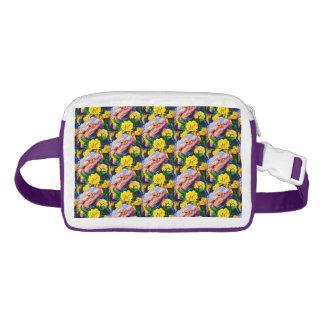 Sac Banane Dragon barbu dans le paquet de Fanny de fleurs
