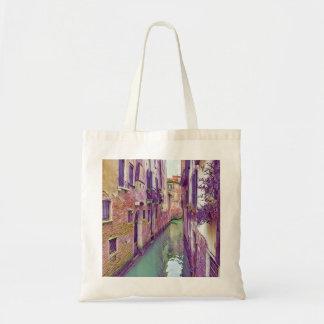 Sac Beau canal de Venise aux nuances du pourpre