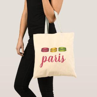 Sac Biscuits français de Macaron de rose de nourriture