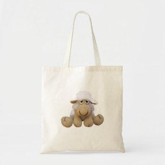 Sac Bourse brebis couleur beig crochet ou crochet