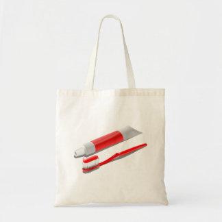 Sac Brosse à dents et pâte dentifrice