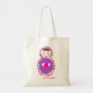 sac cabas poupée russe matriochka liberty rose bag