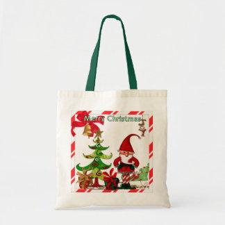 Sac CADEAU folklorique de Whimsey de Noël