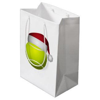 Sac Cadeau Moyen Balle de tennis de Noël