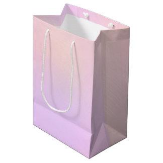 Sac Cadeau Moyen Belles couleurs entrelacées de pastel