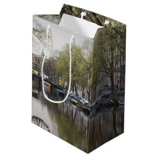 Sac Cadeau Moyen Canaux à Amsterdam, Hollande