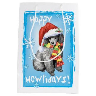 Sac Cadeau Moyen Caniche miniature heureux de Howlidays