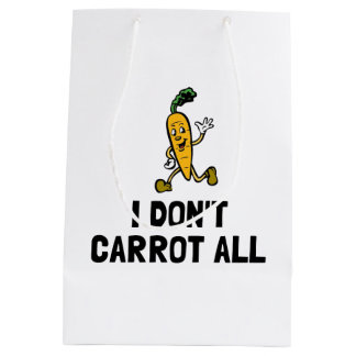 Sac Cadeau Moyen Je ne fais pas carotte toute