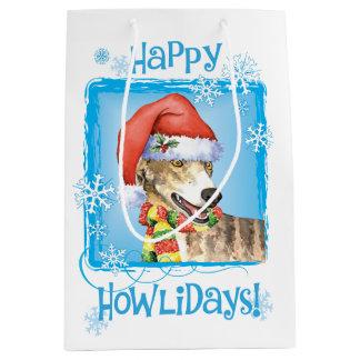 Sac Cadeau Moyen Lévrier heureux de Howlidays