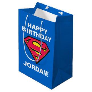 Sac Cadeau Moyen Logo classique des bandes dessinées | Superman |