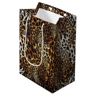Sac Cadeau Moyen Motif réaliste chic WhimsicalArtwork™ de Jaguar