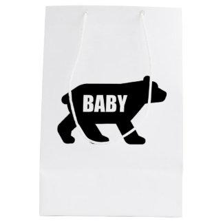 Sac Cadeau Moyen Ours de bébé