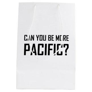Sac Cadeau Moyen Pouvez vous être plus Pacifiques