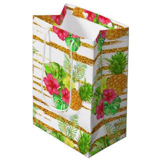 Sac Cadeau Moyen Scintillement tropical d'été