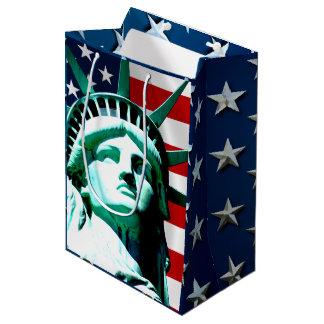 Sac Cadeau Moyen Statue de la liberté, New York
