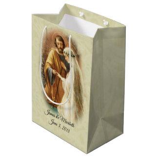 Sac Cadeau Moyen Vierge Marie marié de jeune mariée et mariage de