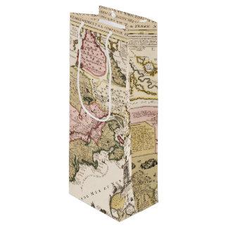 Sac Cadeau Pour Bouteille Carte française médiévale Amérique du Québec/de