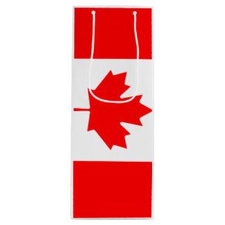 Sac Cadeau Pour Bouteille Drapeau du Canada