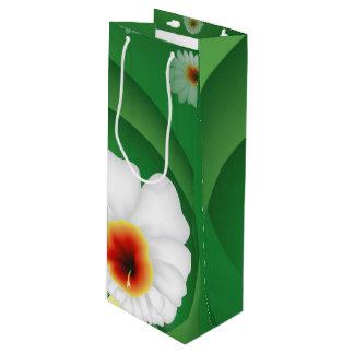 Sac Cadeau Pour Bouteille Fleur de cactus