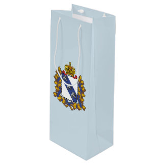 Sac Cadeau Pour Bouteille Manteau des bras de l'oblast de Kursk