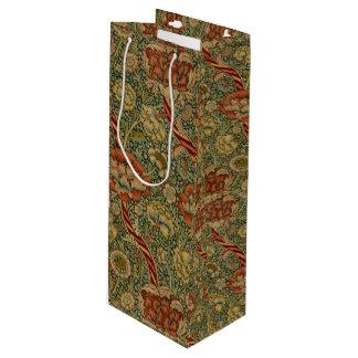 Sac Cadeau Pour Bouteille William Morris vintage Wandle