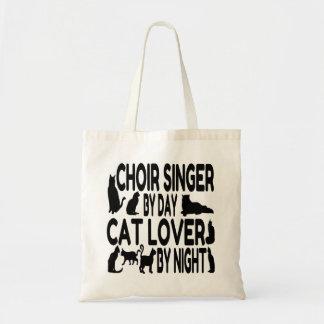 Sac Chanteur de choeur d'amoureux des chats