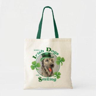 Sac Chien-loup irlandais du jour de St Patrick