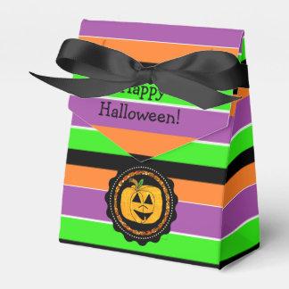 Sac coloré heureux de faveur de Halloween Ballotins