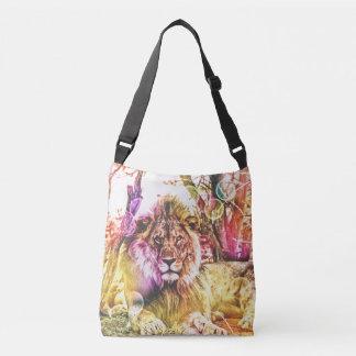 Sac coloré lumineux de lion