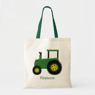 Sac Conception verte personnalisée de tracteur