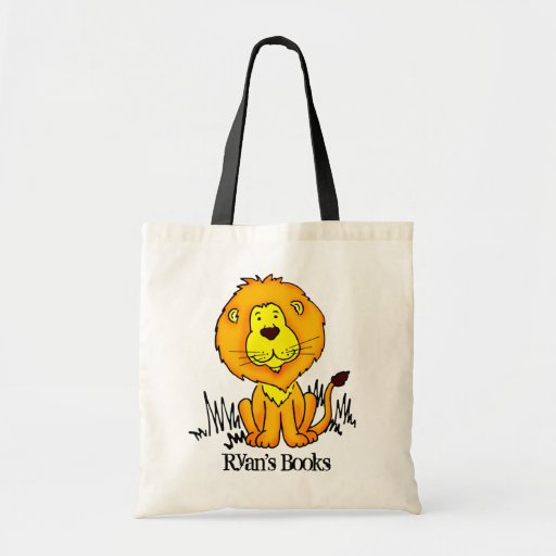 Sac de bibliothèque de lion