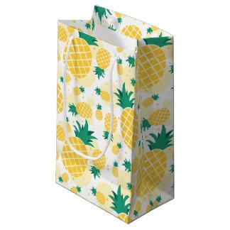 Sac de cadeau d'ananas - petit, brillant
