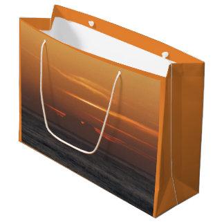 Sac de cadeau de coucher du soleil d'océan