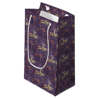 sac de cadeau de deux libellules