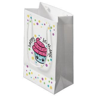 Sac de cadeau de petit gâteau de joyeux
