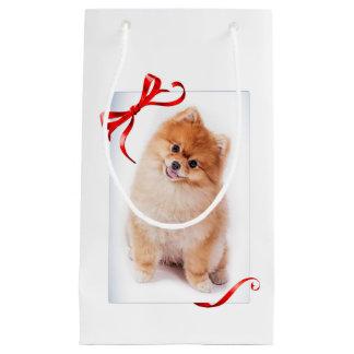Sac de cadeau de Pomeranian