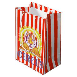 Sac de cadeau de tigre de cirque