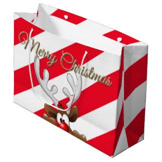 Sac de cadeau grand - Noël