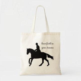 Sac de concours complet de cheval de dressage