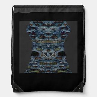 Sac de cordon de conception de pavé sac à dos