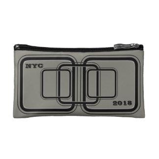 Sac de cosmétique de gris de NYC 2018