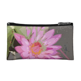 sac de cosmétique de lotus trousse de toilette