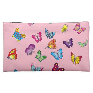 sac de cosmétique de papillon
