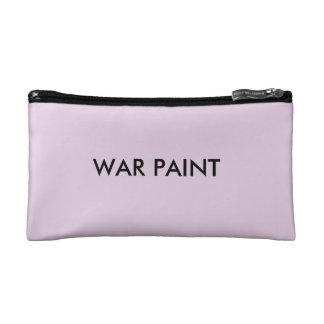 Sac de cosmétique de peinture de guerre trousses de toilette